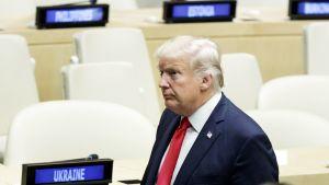 YK jännittää Trumpin ensiesiintymistä – Katso suorana klo 16 alkaen