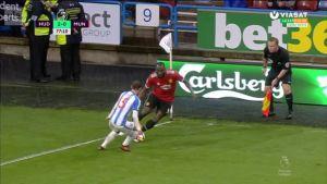 Valioliiga: Manchester United kärsi sokkitappion Huddersfieldin vieraana