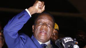 Zimbabwen presidentin virkaanastujaiset