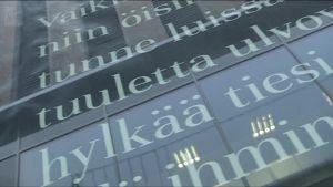 Yle Uutiset Pirkanmaa: Nykyrunous on vallannut Tampereen katukuvan