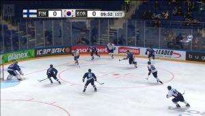 Urheilujuttuja: Etelä-Korea yllätti Leijonat avauserässä