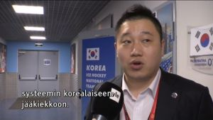 Urheilujuttuja: Etelä-Korean jääkiekossa tavoitteet korkealla