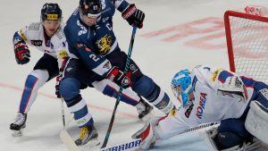 Urheilujuttuja: Suomi-Etelä-Korea -pelin maalit
