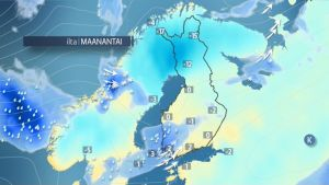Säänurkka: Jouluviikon sää on vaihtelevaa