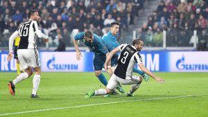 Jalkapallon Mestarien liiga: Puolivälierä Juventus - Real Madrid