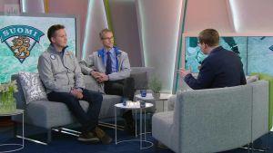Ylen aamu-tv: Jääkiekon olympiajoukkueet