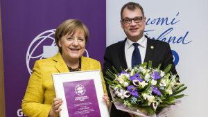 Kansainvälisen tasa-arvopalkinnon palkintojuhla Tampereella, International Gender Equality Prize Ceremony