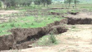 Uutisvideot: Keniassa suuri vajoama