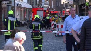 Uutisvideot: Pakettiauto ajoi väkijoukkoon Saksassa – useita kuollut ja loukkaantunut