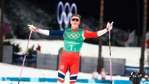 Korean olympialaiset: Norja selvään voittoon, Suomi jäi yhdeksänneksi parisprintissä