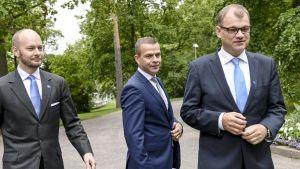 Yle Uutiset suora: Hallitus neuvottelee talouslinjauksista - millaiset verkkokurssit kelpaavat aktiivimalliin?