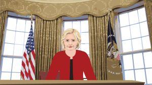 Hillary Clinton vallassa