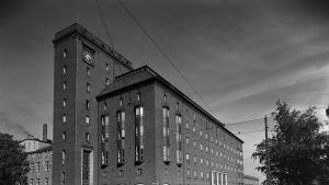 Elannon pääkonttori Hämeentiellä vuonna 1939.