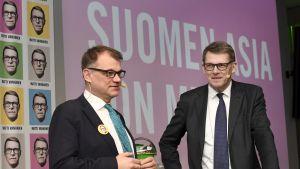 Juha Sipilä ja Matti Vanhanen.