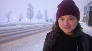 Talvi on ankarimmillaan tammikuisessa Ruotsin Lapissa. Jenni Hiirikoski jännittää autonsa käynnistymistä.