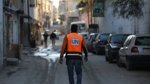 UNRWA:n työntekijä
