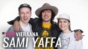Sami Yaffa vieraili YleX Etusivussa.