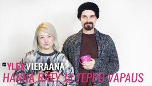 Hanna Räty ja Teppo Vapaus vierailivat YleX Etusivussa.