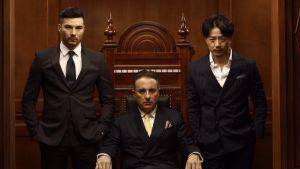 Rhydian Vaughan, Andy Garcia ja Duang Yihong