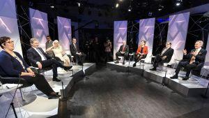 Suuri vaalikeskustelu TV1 25.01.2018.