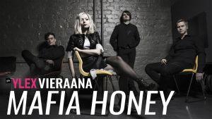 Mafia Honey vieraili YleX Illassa.