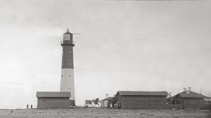 Seiskarin majakka 1920-30-luvulla.