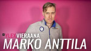 Marko Anttila vieraili YleX Aamussa.