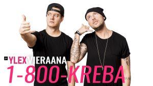 1-800-Kreba vieraili Uuden musiikin X:ssä.