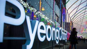 Pyoengchang olympialaiset