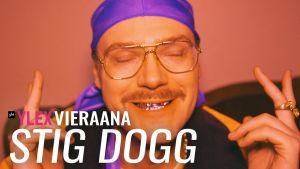 Stig Dogg vieraili YleX Aamussa.