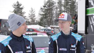 Jonne Halttunen ja Kalle Rovanperä