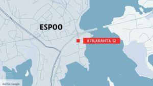 Kartta Espoo