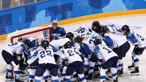 Naisleijonat olympialaisissa 2018