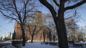 Paavalin kirkko Helsingissä.