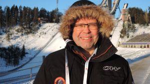 Juha Kolun vapaaehtoistyö kotikisoissa alkoi lähettinä 10-vuotiaana  vuonna 1970.