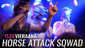 Horse Attack Sqwad vieraili Uuden musiikin X:ssä.
