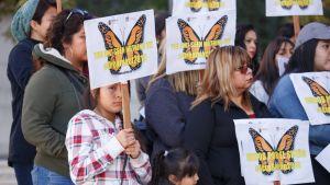 Dacaa puoltava mielenosoitus Kaliforniassa