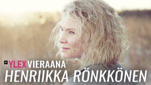 Henriikka Rönkkönen vieraili YleX Etusivussa.