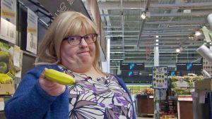 banaani hedelmävaaka lyhtkasvuinen lyhäri Kirsi Eitakari-Kuikka