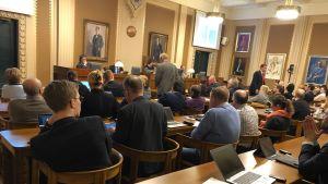 Lahden kaupunginvaltuuston kokous