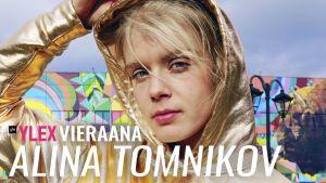 Alina Tomnikov vieraili YleX Etusivussa.