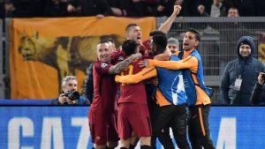 AS Roma juhlii maalia.