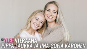 Iina-Sofia Karonen ja Pippa Laukka vierailivat YleX Etusivussa.