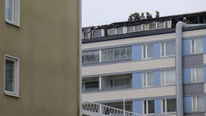 Tulipalo, palokunta, Tampere.