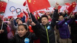 Pekingin olympialaiset 2022.