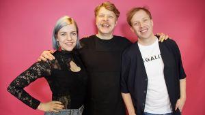 Sami Tallberg vieraili YleX Etusivussa.