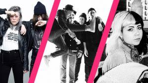 Tällä viikolla musiikissa puhuttivat LCMDF:n uusi single, Vestan debyyttialbumi ja Gasellien vierailu YleX Etusivussa.