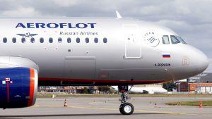 Arkistokuva Aeroflotin lentokoneesta vuodelta 2017.
