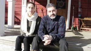 Thierry ja Catherine Chevillard muuttivat Pariisista Posiolle viime vuonna.