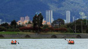Bogotan kaupunkinäkymää